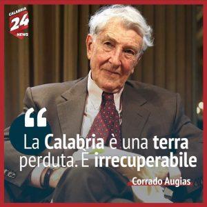 CARO CORRADO AUGIAS SONO IO, LA CALABRIA